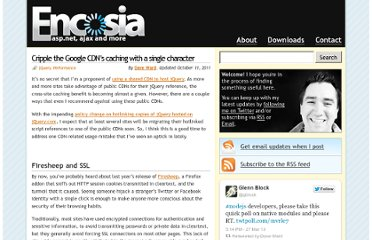 http://encosia.com/cripple-the-google-cdns-caching-with-a-single-character/
