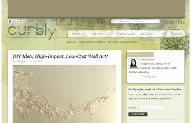 http://www.curbly.com/users/capreek/posts/10548-diy-idea-high-impact-low-cost-wall-art