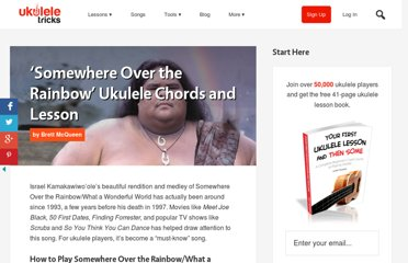 http://www.ukuleletricks.com/somewhere-over-the-rainbow-ukulele-chords/