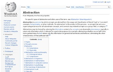 http://en.wikipedia.org/wiki/Abstraction