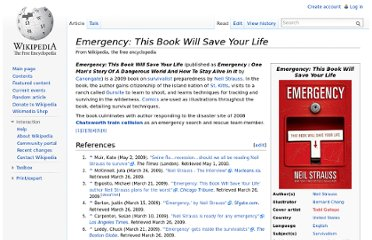 http://en.wikipedia.org/wiki/Emergency:_This_Book_Will_Save_Your_Life