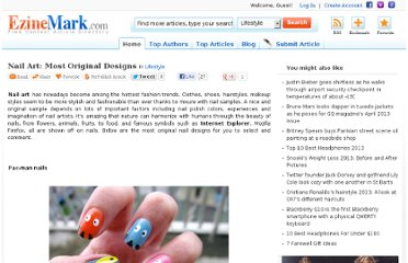 http://lifestyle.ezinemark.com/nail-art-most-original-designs-773658b84515.html