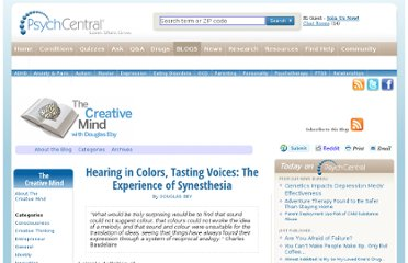 http://blogs.psychcentral.com/creative-mind/2012/02/hearing-in-colors-tasting-voices-the-experience-of-synesthesia/
