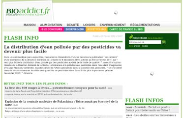 http://www.bioaddict.fr/flashinfos/la-distribution-d-eau-polluee-par-des-pesticides-va-devenir-plus-facile-f2888.html