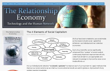 http://www.relationship-economy.com/2010/09/the-4-elements-of-social-capitalism/