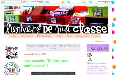 http://universdemaclasse.blogspot.com/search/label/Accueil