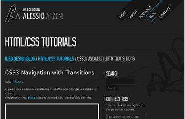 http://www.alessioatzeni.com/blog/css3-navigation-with-transitions/