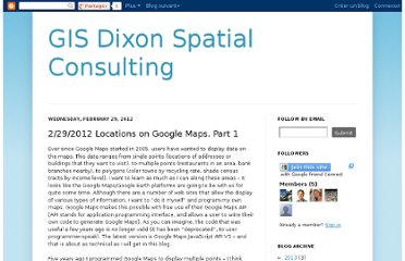 http://gisdixon.blogspot.com/2012/02/2292012-locations-on-google-maps-part-1.html