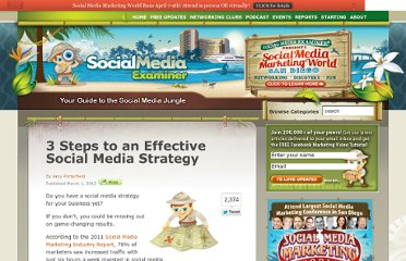 http://www.socialmediaexaminer.com/3-steps-to-an-effective-social-media-strategy/
