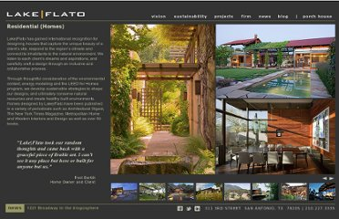 http://www.lakeflato.com/projects/homes.asp