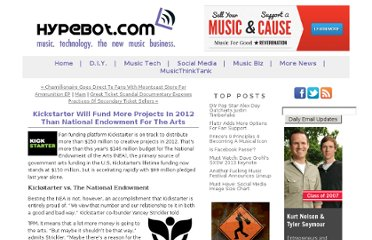 http://www.hypebot.com/hypebot/2012/02/kickstarter-will-fund-more-projects-than-the-nation-endowment-for-the-arts-in-2012.html