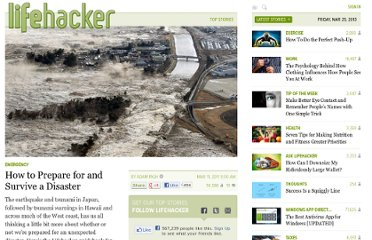 http://lifehacker.com/5781011/the-lifehacker-guide-to-preparing-for-a-disaster