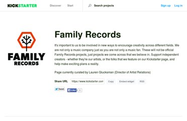 http://www.kickstarter.com/pages/familyrecords