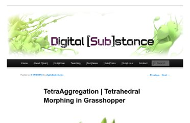 http://digitalsubstance.wordpress.com/2012/03/01/tetraaggregation-tetrahedral-morphing-in-grasshopper/