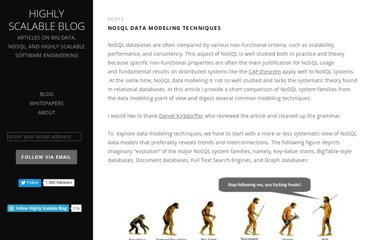 http://highlyscalable.wordpress.com/2012/03/01/nosql-data-modeling-techniques/