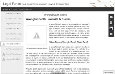http://legalfunds.blogspot.com/2012/02/wrongful-death-claims.html