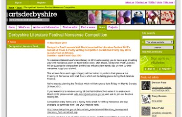 http://www.artsderbyshire.org.uk/news/news_articles/competition_literature_arts_derbyahire.asp