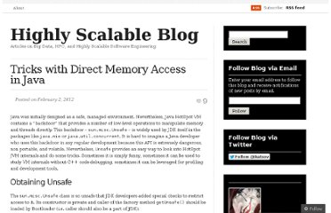 http://highlyscalable.wordpress.com/2012/02/02/direct-memory-access-in-java/