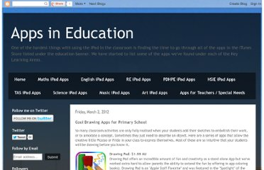 http://appsineducation.blogspot.com/2012/03/cool-drawing-apps-for-primary-school.html
