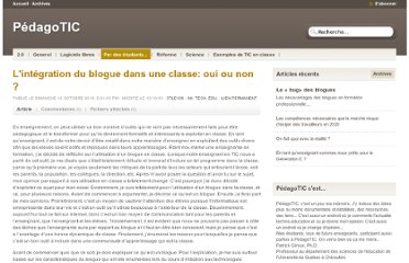 http://pedagotic.uqac.ca/?post/2010/10/07/L-int%C3%A9gration-du-blogue-dans-un-classe%3A-oui-ou-non