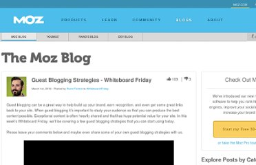 http://www.seomoz.org/blog/guest-blogging-strategies-whiteboard-friday
