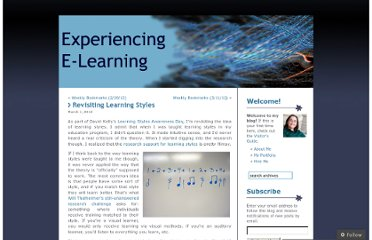 http://christytucker.wordpress.com/2012/03/01/revisiting-learning-styles/
