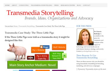 http://athinklab.com/transmedia-storytelling/case-study-example-the-three-little-pigs/