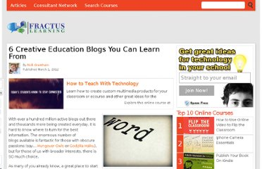 http://www.fractuslearning.com/2012/03/01/education-blogs-learn-from/