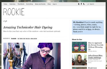 http://rookiemag.com/2012/02/amazing-technicolor-hair/