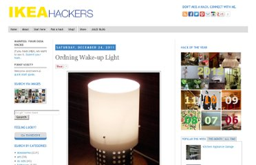 http://www.ikeahackers.net/2011/12/ordning-wake-up-light.html#more