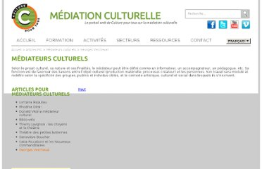 http://mediationculturelle.culturepourtous.ca/articles/georges-vercheval/