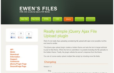 http://www.jainaewen.com/files/javascript/jquery/iframe-post-form.html#sourceforge-project