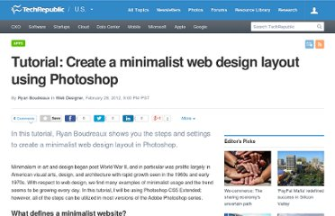 http://www.techrepublic.com/blog/webmaster/tutorial-create-a-minimalist-web-design-layout-using-photoshop/1250