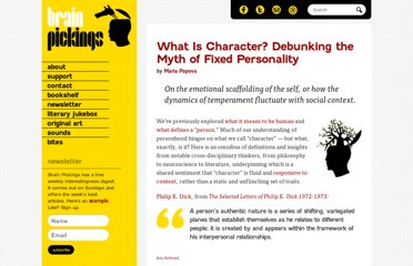 http://www.brainpickings.org/index.php/2012/03/02/character-personality/