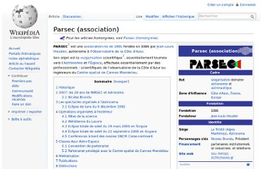 http://fr.wikipedia.org/wiki/Parsec_(association)
