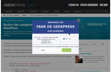 http://www.geekpress.fr/wordpress/astuce/exclure-categories-flux-rss-1042/