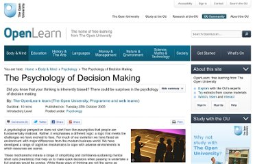 http://www.open.edu/openlearn/body-mind/psychology/the-psychology-decision-making