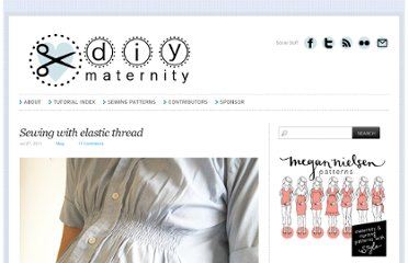 http://diymaternity.com/misc-tips/sewing-with-elastic-thread/