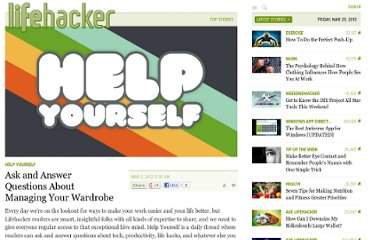 http://lifehacker.com/5889985/ask-and-answer-questions-about-managing-your-wardrobe