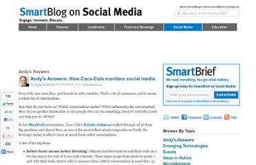 http://smartblogs.com/social-media/2012/03/02/ahow-coca-cola-monitors-social-media/