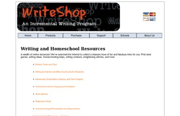 http://www.writeshop.com/writingandhomeschoolresources.htm#tools