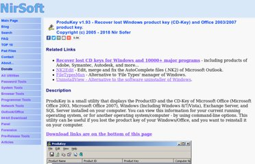 http://www.nirsoft.net/utils/product_cd_key_viewer.html