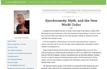 http://fiveliteracies.typepad.com/richard_hames/2011/10/synchronicity-myth-and-the-new-world-order.html
