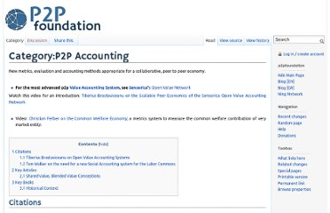 http://p2pfoundation.net/Category:P2P_Accounting