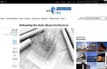 http://www.archdaily.com/200761/reframing-the-stats-about-architecture/