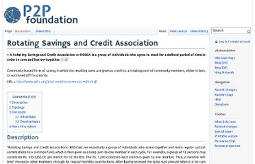 http://p2pfoundation.net/Rotating_Savings_and_Credit_Association