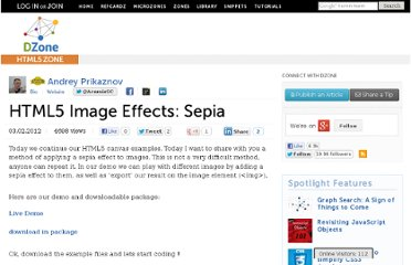 http://css.dzone.com/articles/html5-image-effects-sepia