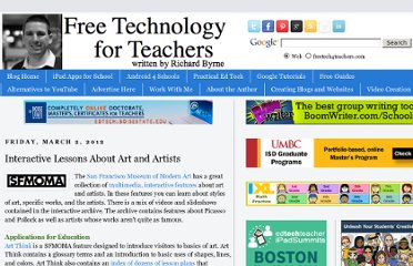 http://www.freetech4teachers.com/2012/03/interactive-lessons-about-art-and.html