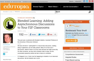 http://www.edutopia.org/blog/blended-learning-research-eric-brunsell