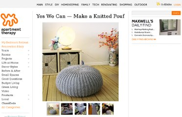 http://www.apartmenttherapy.com/yes-we-can-make-a-knitted-pouf-90261